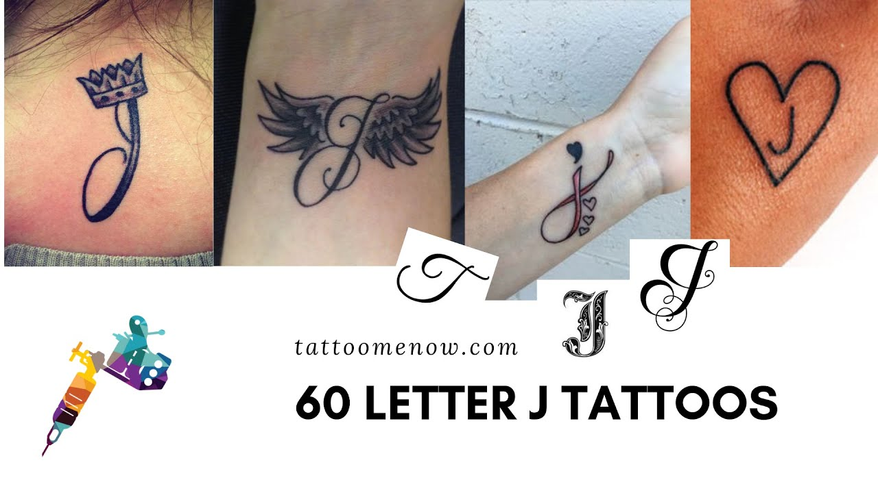 60 Letter J Tattoo Designs Ideas And Templates Tattoo Me Now