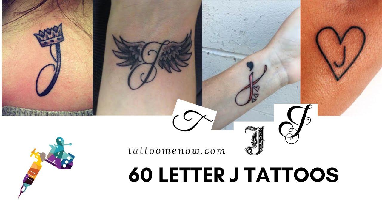 maxresdefault Tattoo Designs Templates Letter J on lower case alphabet, logo design, jellyfish craft, cut out, jungle animal, printable juice,