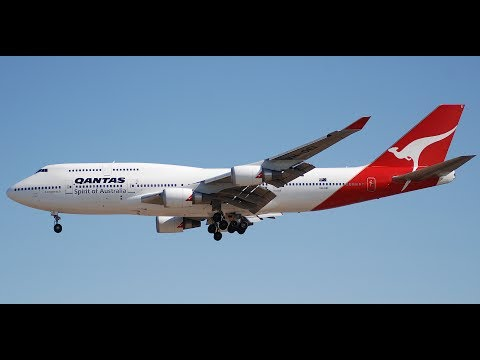 Prepar 3D-IVAO | Boeing 747 Qantas Airways | Rarotonga Intl. Airport to Los Angeles Intl. Airport