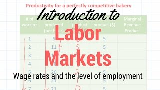 Introduction to Resource Markets and Marginal Revenue Product