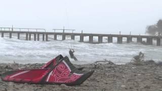16 марта 2014 Черное море Кайт-серфинг пляж Лермонтово(, 2014-03-17T22:03:59.000Z)