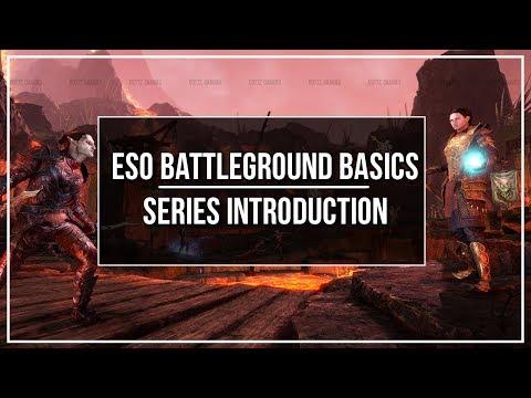 ESO Battlegrounds Basics - Series Introduction
