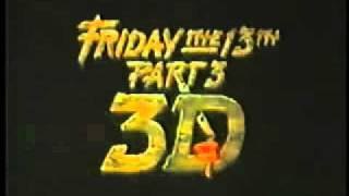 (1982) Friday The 13th Part 3 in 3-D Trailer