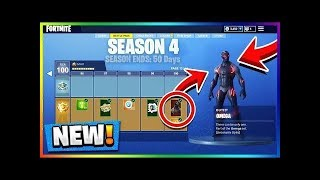 Fortnite *NEW* Season 4 Battle Pass Giveaways And Grinding (First Reactions) | 203/300 Subs