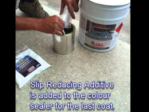 how to add a slip reducing additive to sealer aviasta