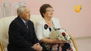 Семья Сулеймановых принимает поздравления с золотой свадьбой