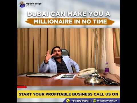 Dubai can make you Millionaire..
