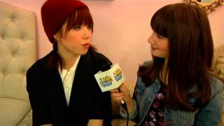 BackStage with Carly Rae Jepsen at Cinderella on Broadway