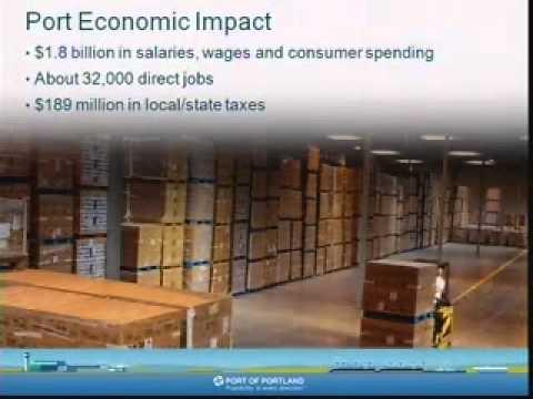 Oregon, Port of Portland, International Marketing and Trade