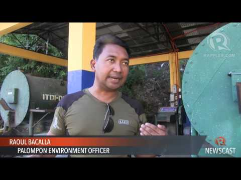Environmental protection spares Leyte coastal town