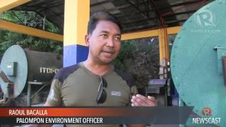 Environmental protection spares Leyte coastal town