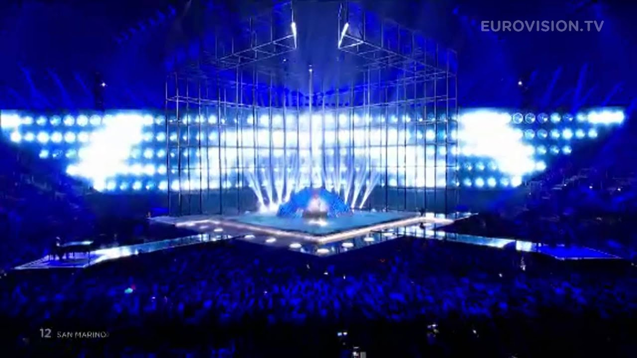 Eurovision Live: Maybe (Forse) (San Marino) LIVE 2014