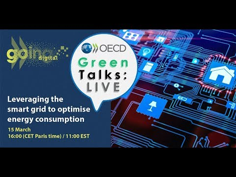 Green Talks LIVE   Leveraging the smart grid to optimise energy consumption