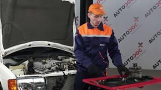 Como mudar Filtro de Combustível MERCEDES-BENZ 190 (W201) - vídeo grátis online