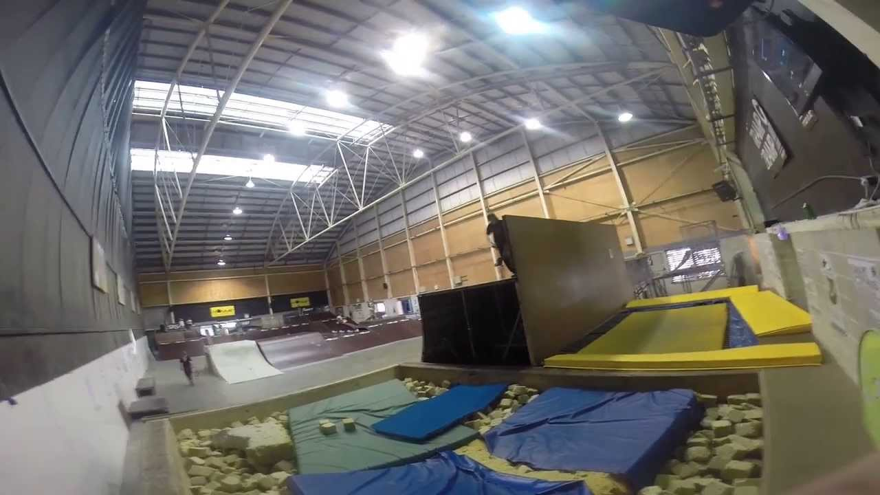 Monster Skatepark Supertramp Foam Pit Session