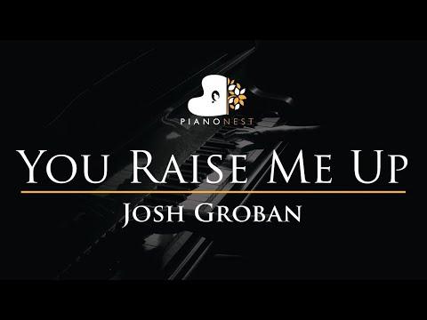 josh-groban---you-raise-me-up---piano-karaoke-instrumental-cover-with-lyrics