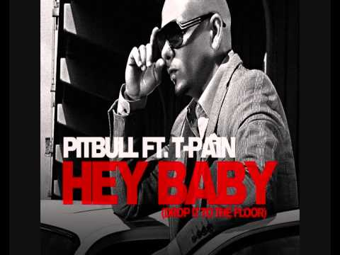 Pitbull ft TPain  Hey Ba extended radio edit, hq , DL