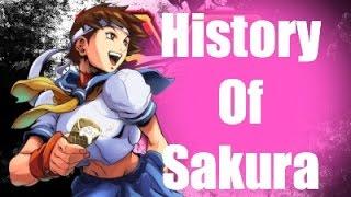 History Of Sakura Street Fighter V