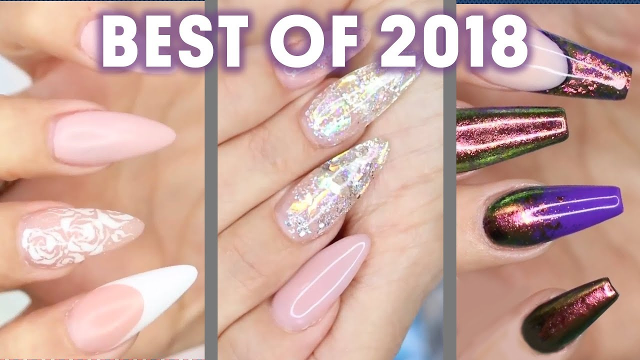 Young Nails - Best of 2018 - Acrylic/Gel Nails - YouTube