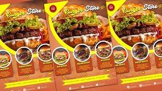 [Tuto DA] Faire Affiche Publicitaire de Burger avec Adobe Photoshop CC #2