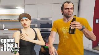 GTA 5 - How to Get a Girlfriend (Trevor and Ursula)