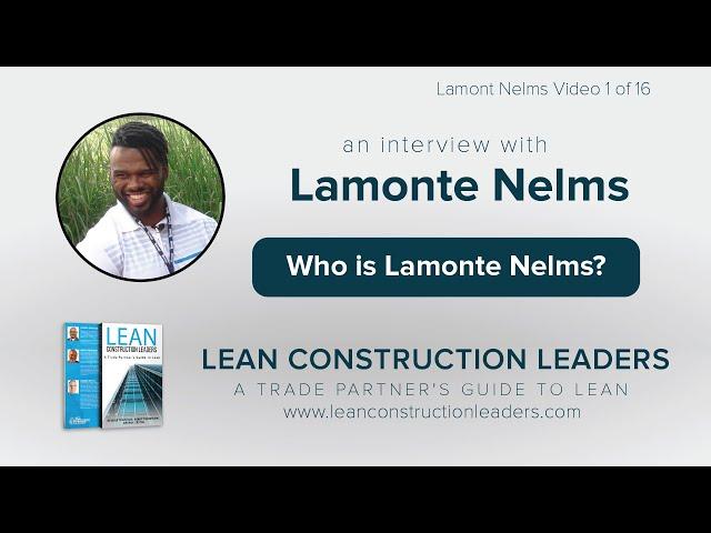 Who is Lamonte Nelms?