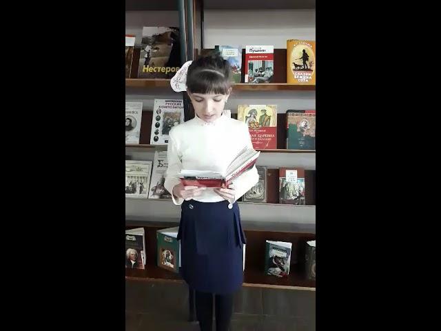 Изображение предпросмотра прочтения – ДарьяШумакова читает произведение «Стихотворение в прозе Воробей» И.С.Тургенева