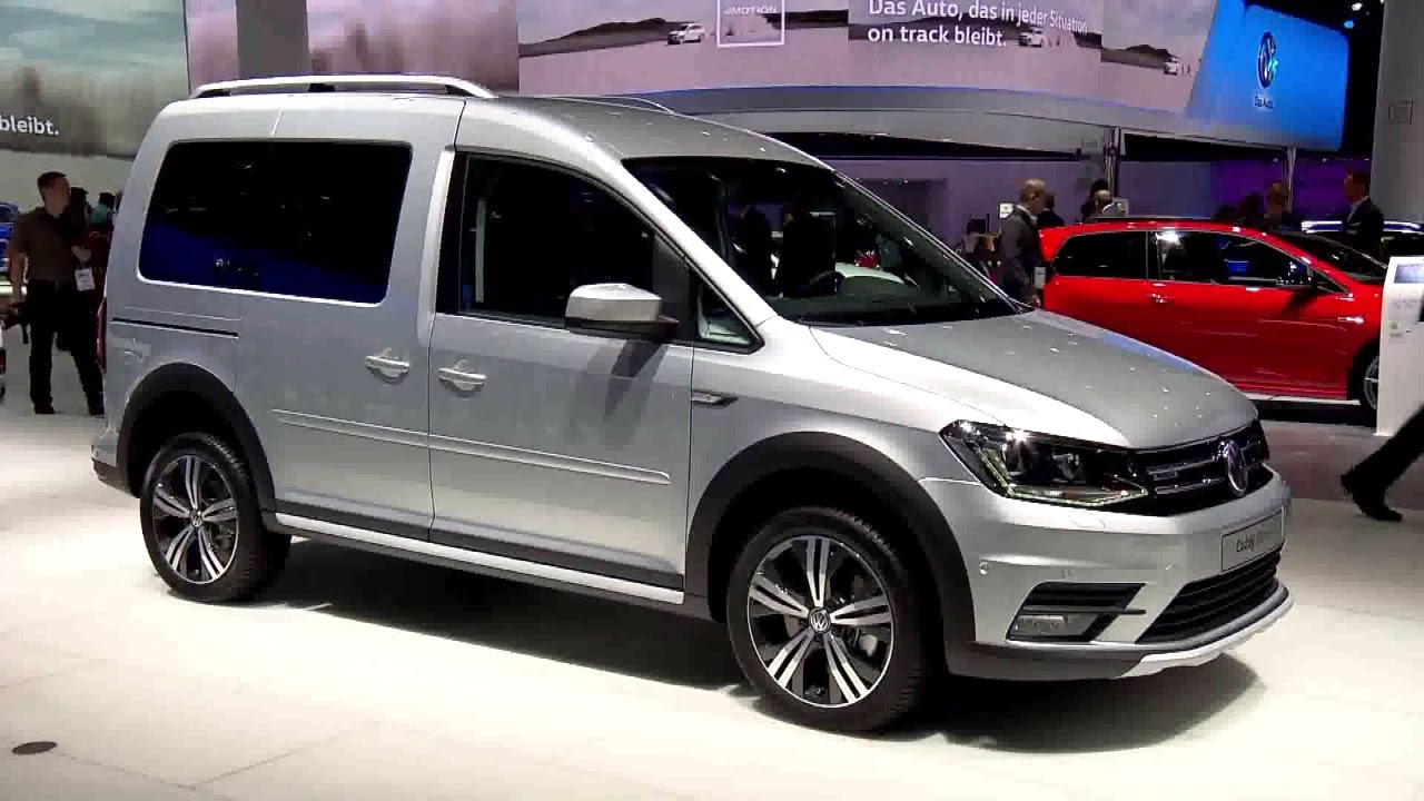 volkswagen caddy alltrack at iaa 2015 youtube. Black Bedroom Furniture Sets. Home Design Ideas