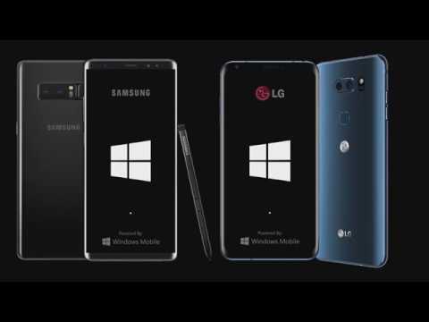 Windows Mobile Concept 2018 (Boot Screen)
