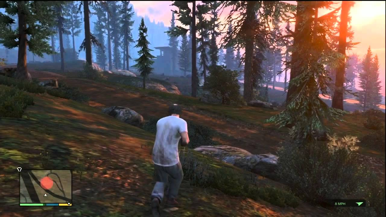 gta v gta 5 animal hunting gameplay xbox 360 youtube. Black Bedroom Furniture Sets. Home Design Ideas