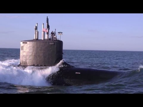 US Navy - USS Minnesota (SSN 783) Virginia-Class Nuclear Submarine Full Sea Trials [1080p]