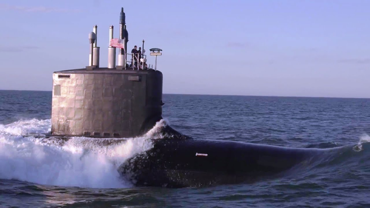 US Navy - USS Minnesota (SSN 783) Virginia-Class Nuclear Submarine ...