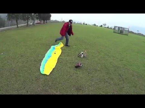 RC Powered Paraglider PRISMA