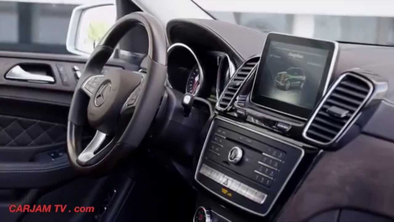 Mercedes Gle 500e Interior Hybrid Suv 4matic Commercial Carjam Tv You