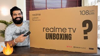Realme TV 43inch Unboxing amp First Look - Best Budget Smart TV
