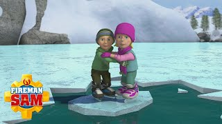 Icey Rescue ⭐️ Fireman Sam US | Best Rescues 🔥Kids Cartoons
