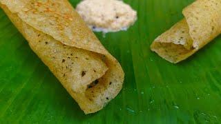 Tasty & Easy Super Crispy Dosa Recipe