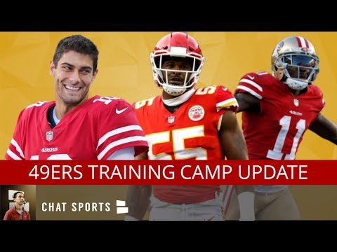 49ers News & Rumors: Dee Ford Injury, Jimmy Garappolo Trick Play, Safety Battle & Projected WR Depth