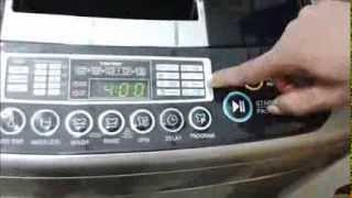 GreenDust Fully Automatic (Top Loading) Washing Machine Demo in Tamil
