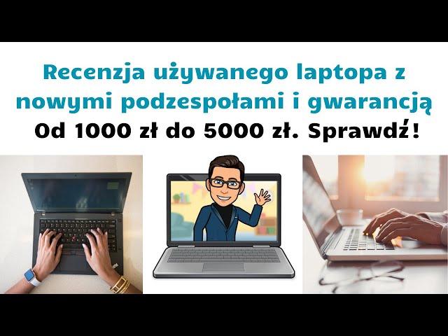 Recenzja laptopa używanego ThinkPad T510 💻 z nowymi podzespołami 🎯 Nowoczesny i tani laptop 👨💻