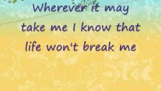 Angels--Jessica Simpson (Lyrics)