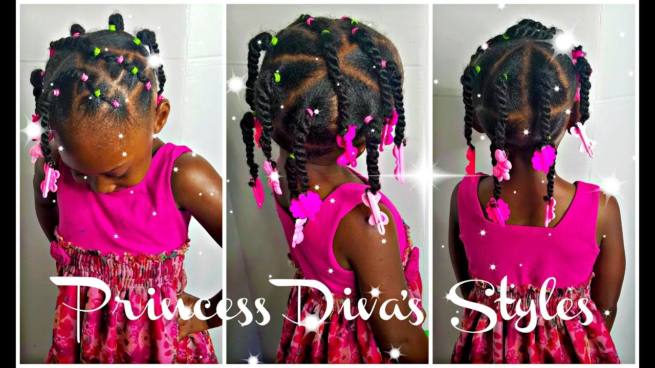 Simple Hairstyle For Those Learning How To Do Hair Kids