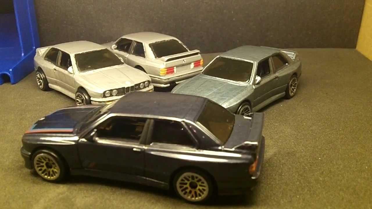 BMW E30 M3 >> Hot Wheels BMW '92 M3 E30 Customs - YouTube