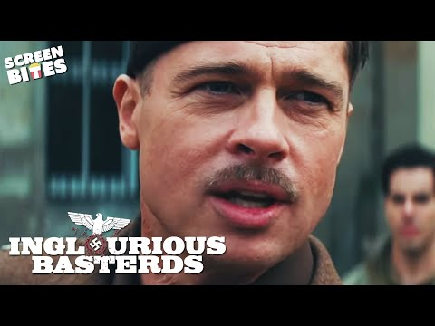 """Inglourious Basterds - Brad Pitt """"I'm Putting together a special team"""" OFFICIAL HD VIDEO"""