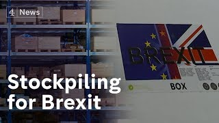 Meet the Brexit stockpilers