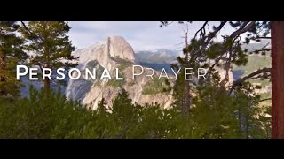 Image of Personal Prayer HD video