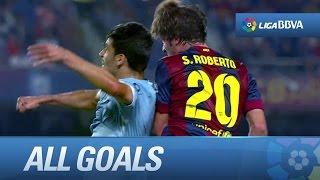 Todos los goles de FC Barcelona (3-0) SD Eibar - HD