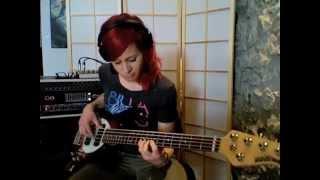 "Beck ""Sexx Laws"" Bass Cover By Fabienne Gilbert Bassist"