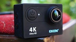 EKEN H9 - ЛУЧШАЯ ЭКШН КАМЕРА за 39$ (4K, 120fps, WIFI) Экшн камера с АЛИЭКСПРЕСС!