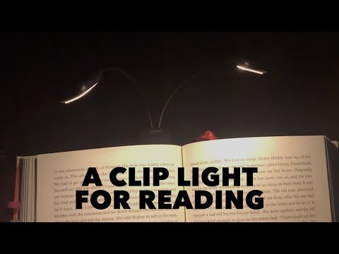 A Clip Light For Reading